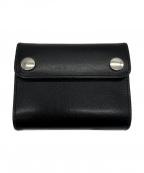 MARGARET HOWELL idea(マーガレット ハウエル アイディア)の古着「財布」 ブラック