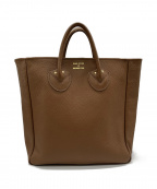 YOUNG & OLSEN The DRYGOODS STO(ヤングアンドオルセン ザ ドライグッズストア)の古着「EMBOSSED LEATHER TOTE M」 ブラウン
