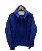 DESCENTE ALLTERRAIN(デザイント オルテライン)の古着「ACTIVE SHELL JACKET」|ブルー