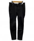 YANUK(ヤヌーク)の古着「ブラックデニム」 ブラック