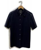 ESCADA(エスカーダ)の古着「ニットジャケット」|ブラック