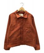 ()の古着「モールスキンワークジャケット」 ブラウン