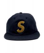 SUPREME(シュプリーム)の古着「S LOGO CAP」|ネイビー