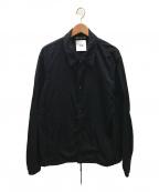 CLANE HOMME(クラネ オム)の古着「コーチジャケット」|ブラック