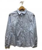 ETRO()の古着「総柄シャツ」 スカイブルー