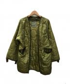 USED(ユーズド)の古着「ライナージャケット」|グリーン