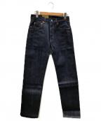 LEVIS VINTAGE CLOTHING(リーバイスヴィンテージクロージング)の古着「セルビッチリジットデニムパンツ」|インディゴ