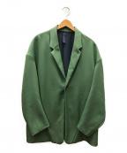 SHINYA KOZUKA(シンヤコズカ)の古着「テーラードジャケット」|グリーン