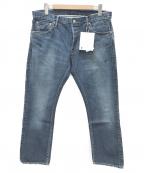 VISVIM(ビズビム)の古着「デニムパンツ」 ブルー