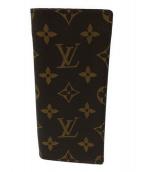 LOUIS VUITTON(ルイ ヴィトン)の古着「眼鏡ケース」|ブラウン×ベージュ