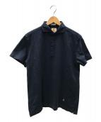 GUY ROVER(ギローバー)の古着「ポロシャツ」|ネイビー