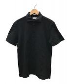 ()の古着「鹿の子ポロシャツ」|ブラック