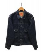 LEVIS VINTAGE CLOTHING(リーバイスヴィンテージクロージング)の古着「リジットデニムジャケット」|インディゴ