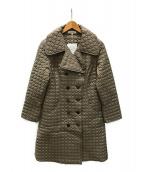 cremure(クレアミュール)の古着「キルティングコート」|ブラウン