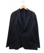 ()の古着「シアサッカーテーラードジャケット」|ネイビー