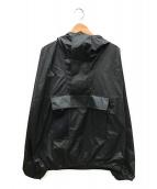 NIKE ACG(ナイキエージーシー)の古着「ロゴ刺繍ビッグアノラックパーカー」|ブラック
