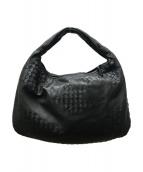 ()の古着「イントレチャートハンドバッグ」 ブラック