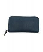 DIOR HOMME(ディオール オム)の古着「ラウンドファスナー財布」|ネイビー