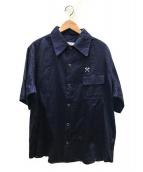 GENERAL RESEARCH(ジェネラルリサーチ)の古着「ボーリングシャツ」|ネイビー