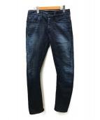 Denham(デンハム)の古着「HELIX SLIM FIT 3Dデニム」|ブルー