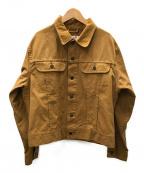 FILSON GARMENT(フィルソンガーメント)の古着「キャンバストラックジャケット」 ブラウン