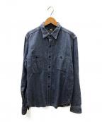 JELADO(ジェラード)の古着「山ポケワークシャツ」 ブルー