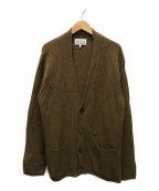 Martin Margiela 10(マルタンマルジェラ 10)の古着「ニットカーディガン」|ベージュ