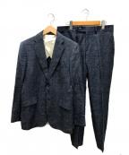 recency of mine(リーセンシィ オブ マイン)の古着「セットアップスーツ」 ブルー