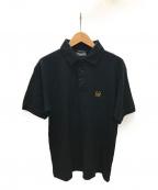Christian Dior MONSIEUR(クリスチャンディオールムッシュ)の古着「刺繍ロゴポロシャツ」|ブラック
