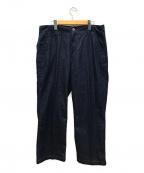 POST OALLS(ポストオーバーオールズ)の古着「New Maker Pants 8D」|ネイビー