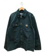 Carhartt WIP()の古着「ダックワークジャケット」|グリーン