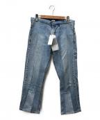 SEEALL(シーオール)の古着「デニムパンツ」 ブルー