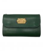 ROTAR(ローター)の古着「2つ折り財布」|レトログリーン