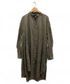 JULIUS(ユリウス)の古着「PT Long shirt」 カーキ