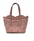 ()の古着「ビジュートートバッグ」|ピンク