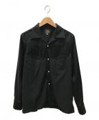 Needles()の古着「フリンジカウボーイシャツ」 ブラック