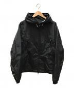 MONCLER(モンクレール)の古着「ロゴナイロンジャケット」 ブラック
