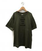 ts(s)(ティーエスエス)の古着「プリントTシャツ」 ダークグリーン