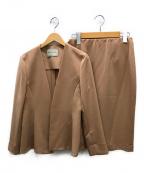 UNITED ARROWS TOKYO()の古着「セットアップスカートスーツ」|ベージュ