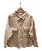 Ameri VINTAGE(アメリヴィンテージ)の古着「シャツジャケット」 ピンク