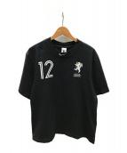 NIKE×OFF WHITE(ナイキ×オフホワイト)の古着「イーグルグラフィックTシャツ」|ブラック