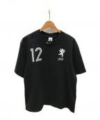 NIKE×OFF WHITE()の古着「イーグルグラフィックTシャツ」|ブラック