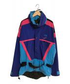 ()の古着「90´s GORE-TEXジャケット」 ブルー×ピンク