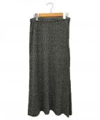 JURGEN LEHL(ヨーガンレール)の古着「ロングスカート」 グレー