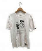NEIGHBORHOOD()の古着「プリントTシャツ」|ホワイト×ブラック