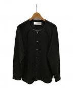 CURLY(カーリー)の古着「ノーカラージャケット」 グレー