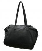 kawa-kawa(カワカワ)の古着「ダブルジップハンドバッグ」|ブラック