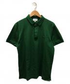 LACOSTE(ラコステ)の古着「レギュラーフィットストレッチ パリポロシャツ」|グリーン