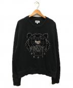 KENZO(ケンゾー)の古着「クルーネックトレーナー」|ブラック