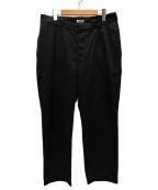 WILLY CHAVARRIA(ウィリーチャバリア)の古着「ワイドパンツ」 ブラック